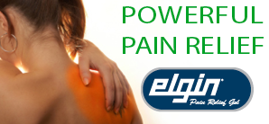 Elgin Pain Relief Gel - Our #1 Selling Topical Analgesic