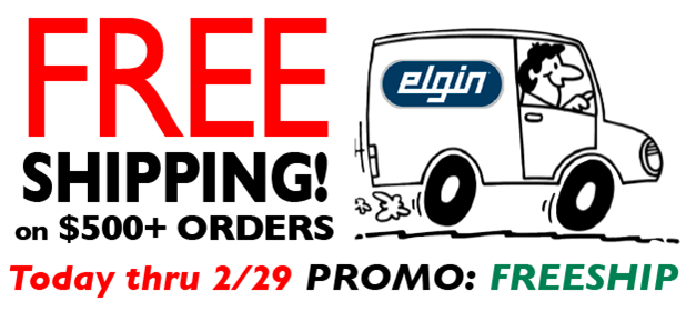 Free Shipping on all $500+ Orders in February!