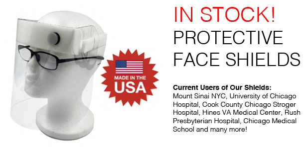 Protective Face Shields - IN STOCK