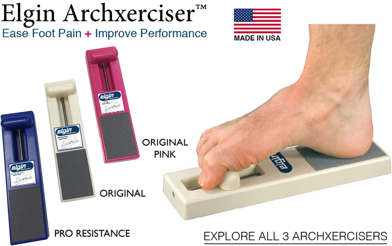 Elgin Archxercisers - Ease Foot Pain & Improve Jumping Performance