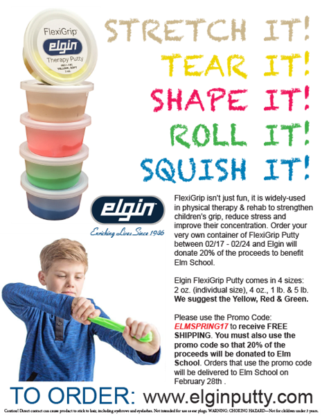 Elgin FlexiGrip Putty Fundraisers For Your School